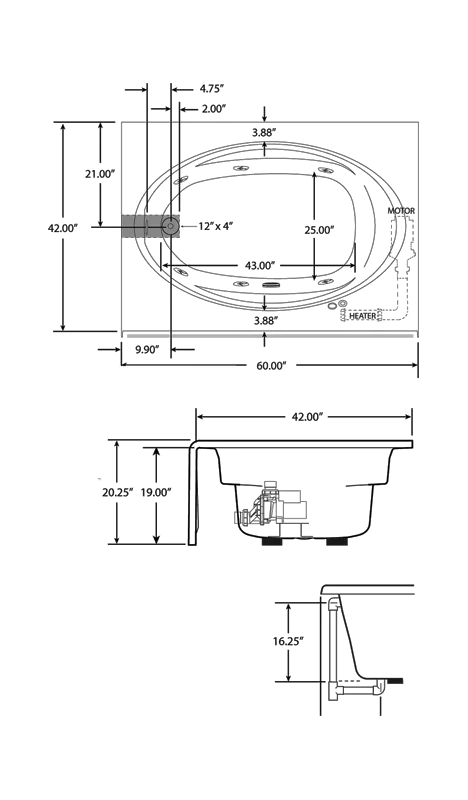 Home Jacuzzi Dimensions Decorticosis