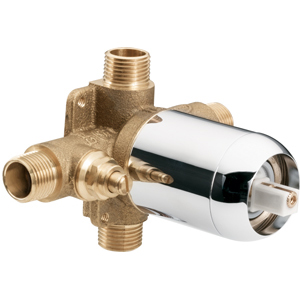 cleveland faucet group 45311 pressure balancing in wall cycling valve with stops