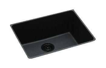 elkay elgu2522bq gourmet undermount kitchen sink bisque pictured in black