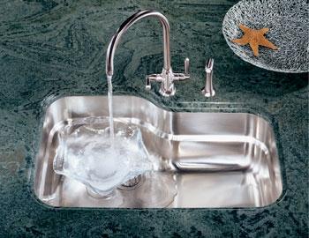 franke orx 110 orca single bowl undermount stainless steel kitchen sink