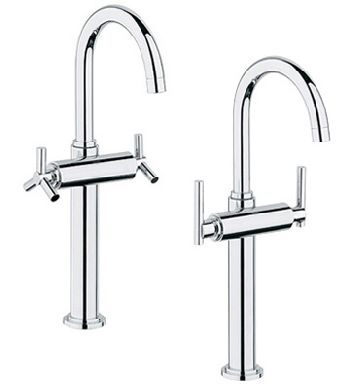 bathroom vessel sink faucets by grohe