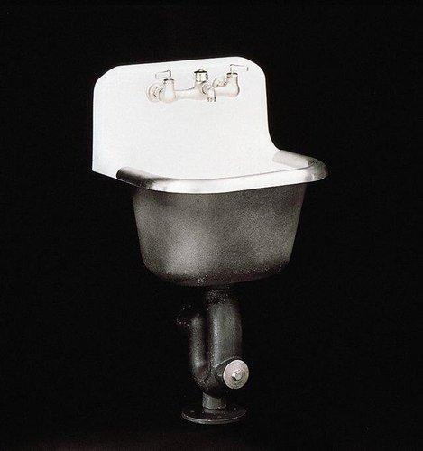 kohler k 6714 0 bannon service sink white