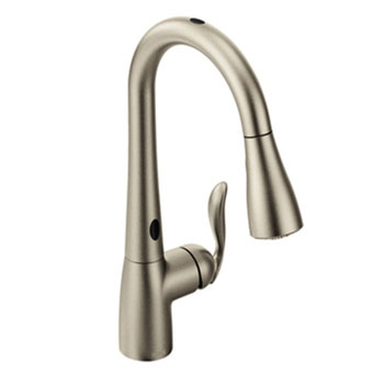 moen pull out kitchen faucets