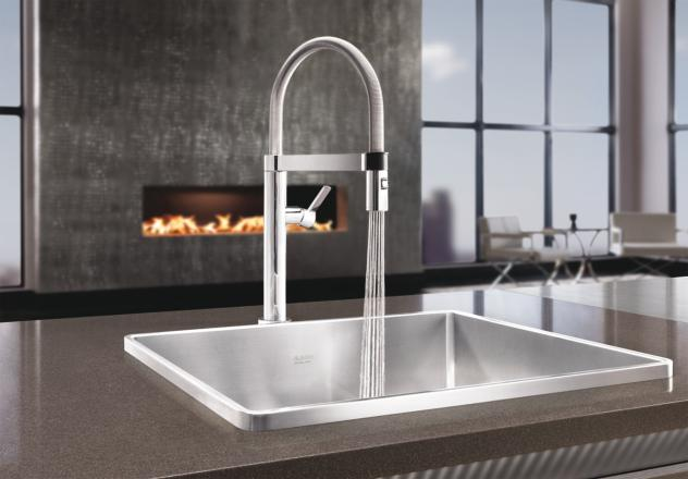 Depot Faucets Single Kitchen Home Handle
