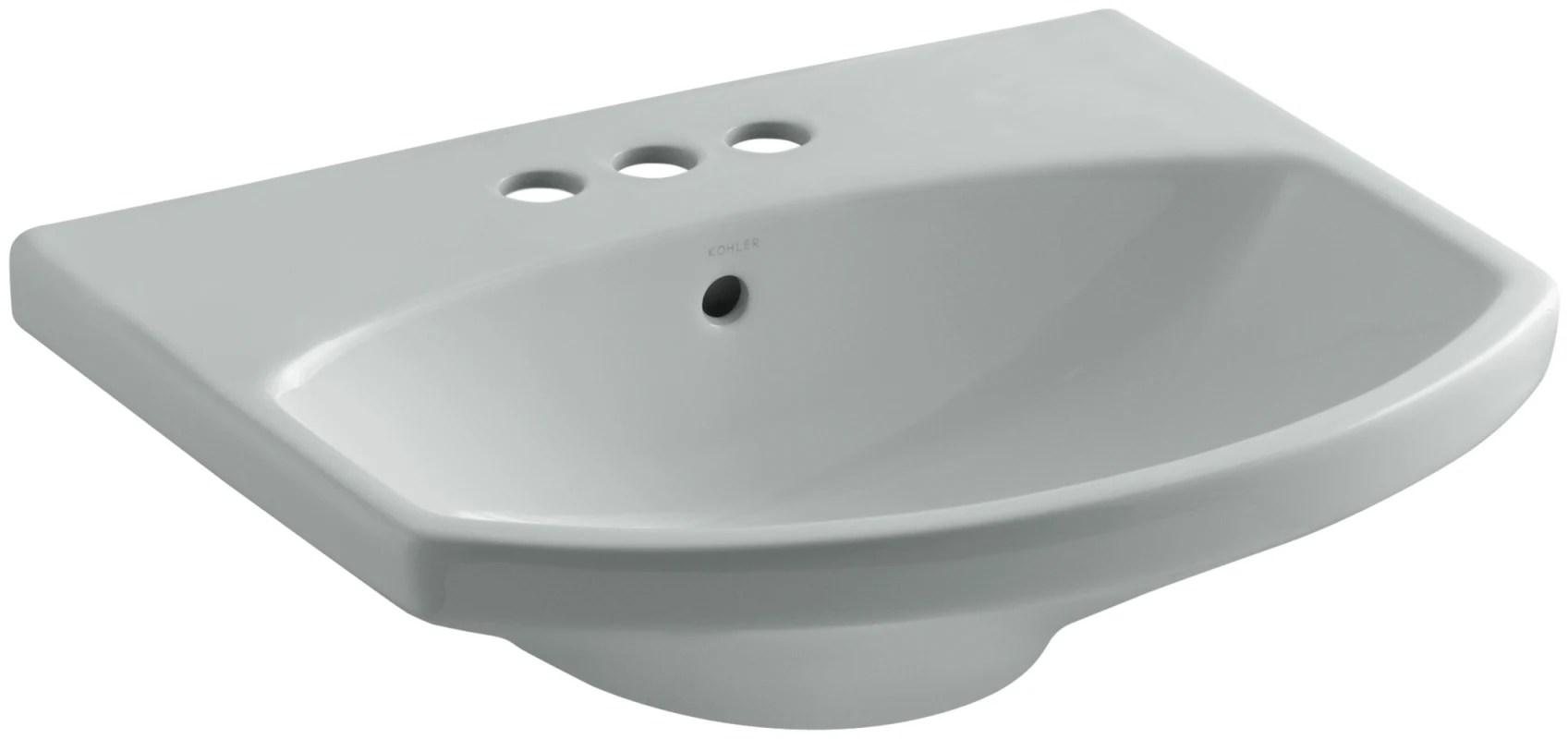 Sterling Sacramento 33 Pedestal Bathroom Sink With