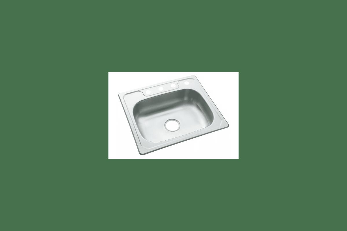 Sterling 3 Na Stainless Steel Middleton Single Basin