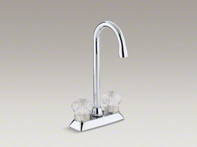 two hole centerset bar sink faucet with