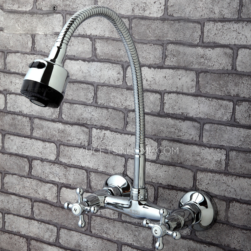 old full rotatable wall mounted kitchen sink faucet ftsih150415004446