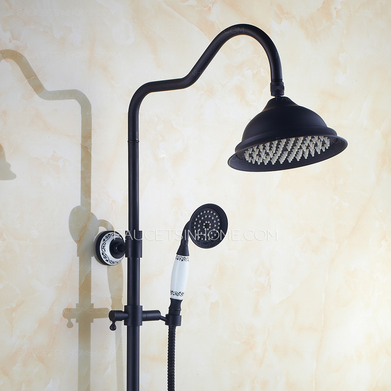 Best Oil Rubbed Bronze Brass Outdoor Shower Faucet System