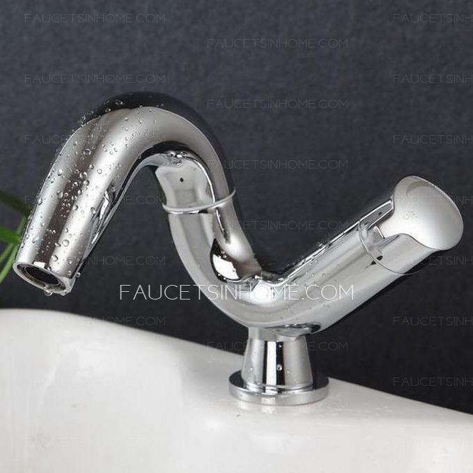 unique chrome finish art deco bathroom faucets fth03221659407