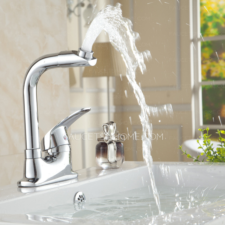 best chrome bathroom sink faucet mixer tap modern two hole single handle fth1806301137532
