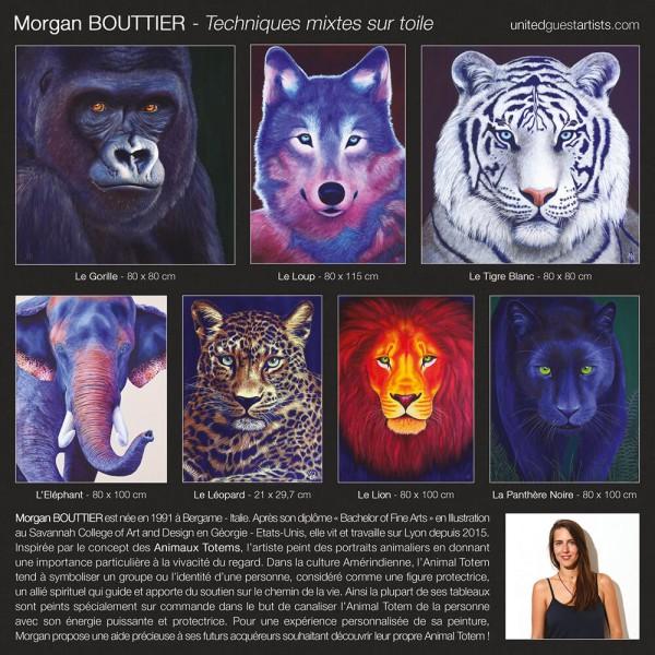 Morgan BOUTTIER - Techniques mixtes sur toile