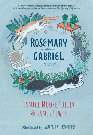 cover of book jacket for Rosemary and Gabriel