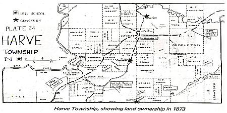 Harve Township, Faulkner County, Arkansas (Courtesy of ArGenWeb)