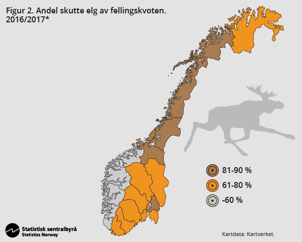 elg statistikk ulv