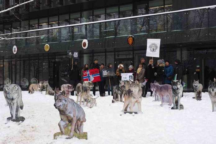 ulv demonstrasjon litauen