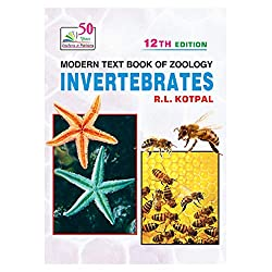 MODERN TEXT BOOK OF ZOOLOGY: INVERTEBRATES 12th Edition
