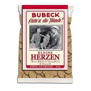 Bubeck petits cœurs   210g pour Chien gâteau céréales frei  chien Biscuit   gâteau pour chien sans céréales   Friandises bien sûr   Complément alimentaire   hundekekse   trockenfutter   Friandises   chien biscuits
