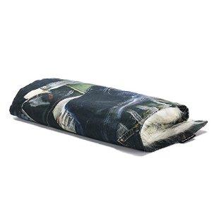 Couverture & plaid pour chien et chat Sabanah Metis Blue Ice S, tissu JP Gaultier et fausse fourrure