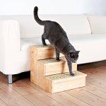 Trixie Escalier PetStair, Chats et Chiens, bouleau, 40 × 38 × 45 cm