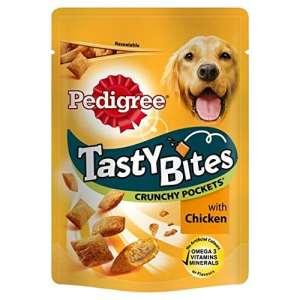 Pedigree Tasty Bites Dog Treats poulet 95g