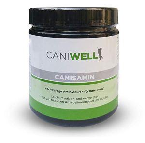 Caniwell Canisamin Acides aminés pour Votre Chien 250 tablettes 400 g