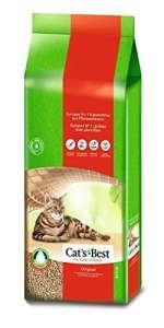 Cat's Best Original – litière pour chats agglutinante – 40L / 17.2kg
