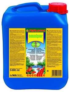 Sera Pond Omnipur S Conditionneur d'Eau pour Aquariophilie 5000 ml