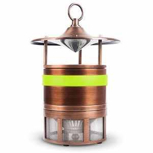ZDQ Mosquito Killer Silent Insect Piège Lampe Mosquito Catcher Électronique LED Zapper Mosquito Lampes pour Ménage/Intérieur / Maison/Bureau / Chambre/Salon (Couleur : Green B)