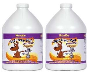 Anti Icky Poo»non parfumées» Odor Remover (2) gallons
