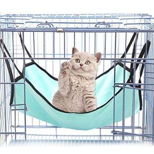 Bello Luna Tapis de lit Suspendu hamac Polaire Polaire pour Chien Chat et Petit Animal – Vert