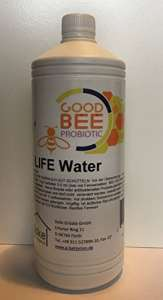 Pour apiculteurs Good Bee Probiotic Bee Life Water Probio tisches Eau 1L apiculteurs besoins Protection d'abeille. Bio Protection d'abeille. apiculteurs Accessoires, certifié BIO Apiculture. Bio.