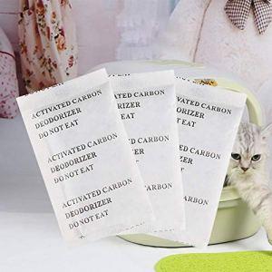 Zhichu Cat Litière Déodorant Filtre Carbone Toilette Spécial Déodorant Carbone Paquet Charbon Activé