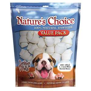 Loving Pets Nature's Choice 100% Naturel en Cuir Brut