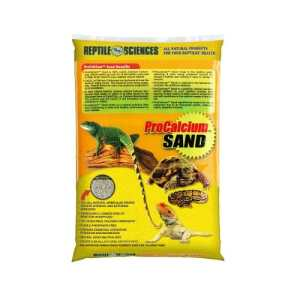 Reptile Sciences Sable pour Terrarium, 4,5 Kilogram, Jaune