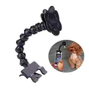 Teepao Selfie Stick pour Animaux de Compagnie Selfies Stick Smartphone Fixation Treat Support Selfie Stick pour Chat ou Chien Chien Jouet de Bain