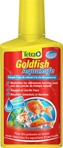 TETRA Goldfish AquaSafe – Conditionneur d'Eau pour Poisson Rouge – 250ml