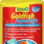TETRA Goldfish AquaSafe – Conditionneur d'Eau pour Poisson Rouge – 250ml
