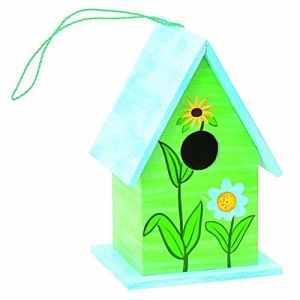 Verdemax 5741 Maison Colorée pour Petits Oiseaux