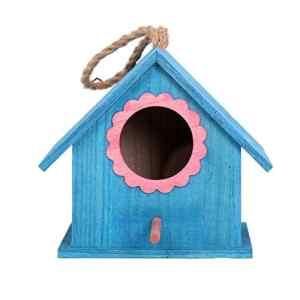 Katurn Mini Birdhouse – Incubateur Extérieur en Bois pour Nid D'oiseau À Suspendre pour Bruant De Munia Zebra Finch