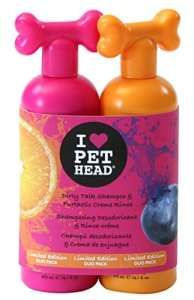 Pet Head Dirty Talk Shampooing et Furtastic Crème rincer