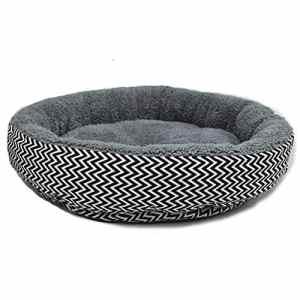 Xuxuou Lit Chaude pour Hamster,Soft Warm Pet Bed Round Pad Pet Cushion,Lit Doux pour Chien et Chat S (34 * 10CM)