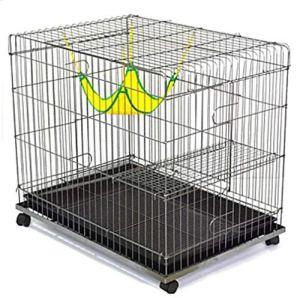 YAMEIJIA Chats Plateau Cages Maisons Pet Liners Solid Pliable Durable Argent Flexible pour Les Animaux De Compagnie