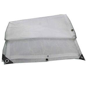 53-FENGLINZEKANG Double bâche Claire Transparente de fenêtre de Balcon de pièce de Soleil et imperméable au Vent (Taille : 4×6m)