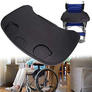Plateau pour fauteuil roulant, plateau pour fauteuil roulant Plateau universel adapté aux fauteuils roulants manuels ou électriques, accessoires de plateau pour fauteuil roulant