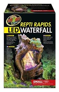Zoo Med Repti Rapids Cascade LED Forme Bois pour Reptile/Amphibien Taille S
