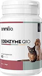 Animigo Co-Enzyme Q10 30mg 60 Capsules Complément Naturel Bien-être pour Chiens et Chats