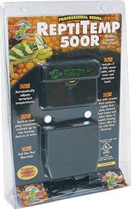 Zoo Med Reptitemp 500R Thermostat avec Capteur Distant pour Reptile/Amphibien