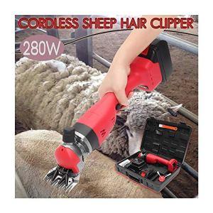Animaux et De L'élevage 280W Rechargeable Cisaille Sheep Electric Non Danger et Une Dissipation Thermique Efficace