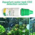 IFEN Réservoir d'eau pour Aquarium Indicateur de CO2 Solution de détection Solution d'aquarium pour Aquarium Centrales de Test de Liquide à Long Terme
